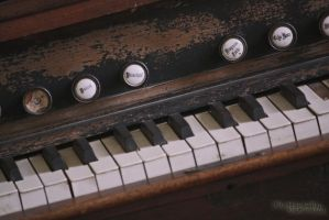 the sound of your fingers on the keys of my heart by RickoDeCreme