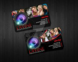 divine photography card by markkristoffer
