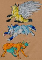 Stickers For Cottonpaws by ARVEN92