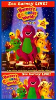 Barney's Colorful World Ad Posters by BestBarneyFan
