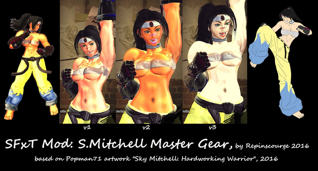 SFxT Mod: S.Mitchell Master Gear by repinscourge