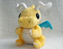 Dragonite Plush by HobbaGobwin