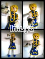 1st Kurapika Crochet Doll by imuya