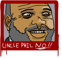 UNCLE PHIL NO by I-like-Dirt