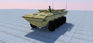 Advanced Amphibious Assault vehicle by kaasjager