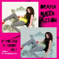 drama queen action by awesomemileyray