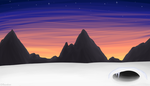 Snowy Mountains - [free room] by Escaboo