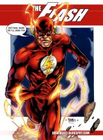 the flash for david lee by adagadegelo