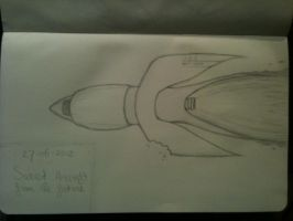 20130627 Sweet Aircraft Of The Future by SketchDailyChallenge