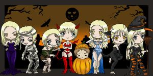 Halloween and Claymore by Gigicom