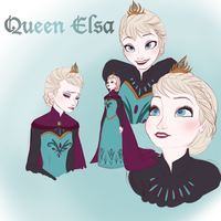Elsa Doodles by Elemes