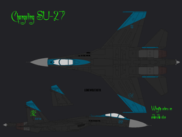 Changeling Kingdom SU-27 by lonewolf3878
