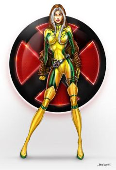 Rogue Commission X men by jamietyndall