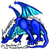 Blue for Bluedragon012 by TrainerSpyro