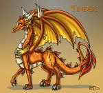 Tinder Firethroat by DragonCid