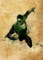 Paint a DC Character: Green Lantern by DeiNyght