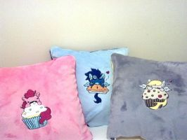 Minky Pony Pillows by NerdyMind