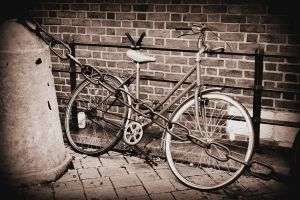 Cracow old bike by PKphotos