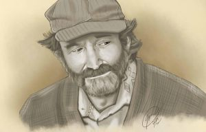Robin Williams by LordPunisher