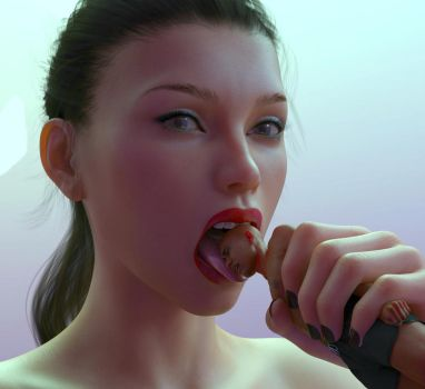 Just a Small Taste by Flagg3D