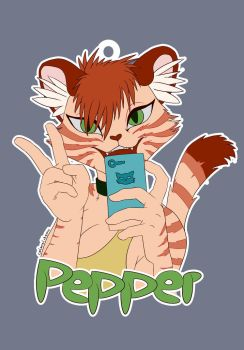 Badge Pepper by coloralchemy