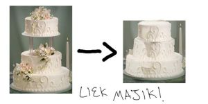 Wedding Cake Powers Activate by NimElf