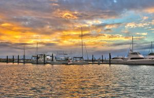 Golden Marina by N-ScapePhotography