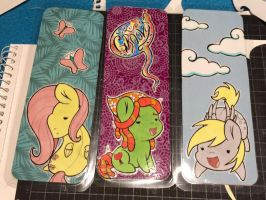 Bookmarks - Ponies by LittleHybridShila
