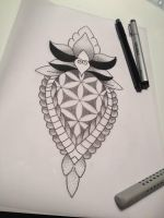 Tattoo Doodle by SpidersOnYourHead