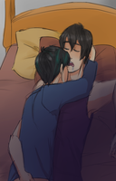 sleeping homos by TSCLonix