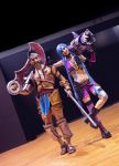 Draven and Jinx - League of Legends first PREVIEW by LeonChiroCosplayArt