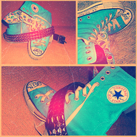 ..Converse..All star.. by Whatsername777
