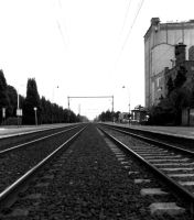Railroad Track by CiNiTriQs