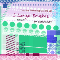 Brushes for Photoshop CS+ by luminicity
