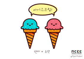 Red Velvet as Sweets - Ice Cream (WenRene) by tinytushy