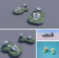 Enforcer Hover Tank by multihawk