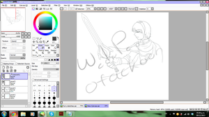 WIP Marth by Otackoon