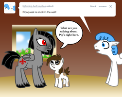 Ask Valier the pegasus, Pip by The-Clockwork-Crow