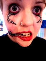 Grotesque make up by hoolzbaby