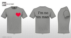 T-Shirt Design Challenge: Tin Man by BobDoesTheArt