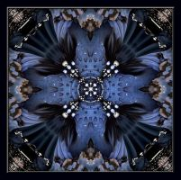 Mandala Blue Night by heyday93