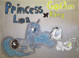 Princess Luna X Golden Ring by Ratchet-Wrench