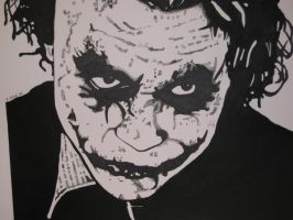 The Joker Inked. by MisterGrumbles