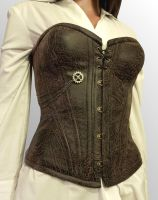 Clockwork Corset by LillysWorkshop