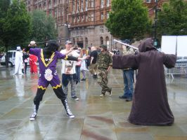 MCM 2014 - Battle Of The Jedi by InsaneSpyro