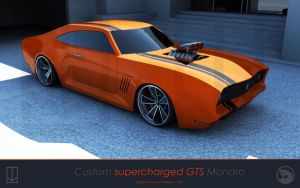 Supercharged GTS Monaro by wizzoo7
