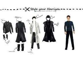 Star Trek Into Darkness: Style your Harrison! by Shingel