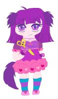 Chubby Magical Dog Girl Bimby by cottoncloudyfilly