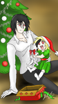 Christmas Surprise with the Nolife King by shaygoyle
