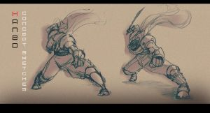 Hanzo Sketches by Ron-zo